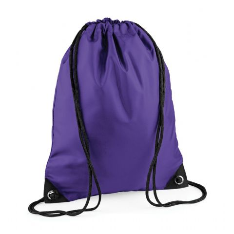 CHOOSE DESIGN - PURPLE GYMSAC